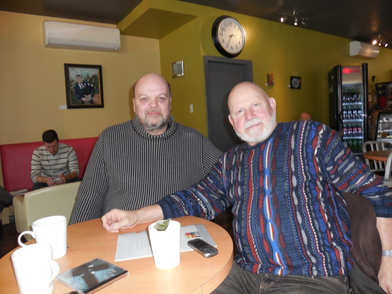Peter-Anthony and Peteris Vasks in Halifax, 2014