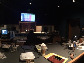 Sound booth at the Glen Gould Studio